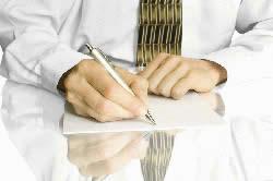 Составление заявления на начало процедуры банкротства.