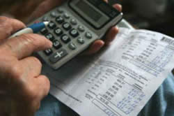 Подсчет задолженности
