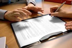 Подача заявления в соответствующие органы