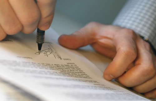 Заверенная форма документа