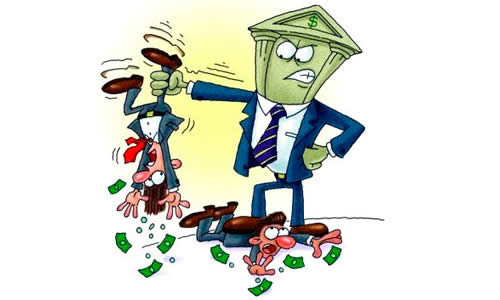 Продажа долгов банками коллекторам